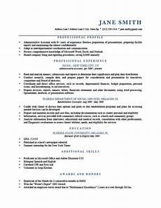 Personal Profile Resume Sample How To Write A Resume Profile Examples Amp Writing Guide Rg