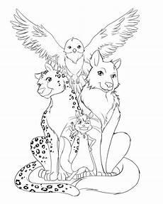 Animals Coloring Avalon Coloring Book Avalon Web Of Magic
