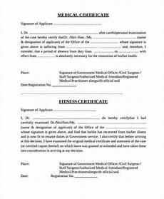 Medical Leave Certificate Format Pdf 35 Medical Certificate Templates In Pdf Free Amp Premium