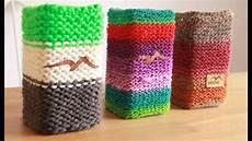 deko stricken strickanleitung f 252 r einen bunten