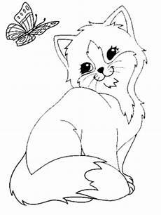 Ausmalbilder Zum Ausdrucken Kostenlos Katze Katze Ausmalbild Ausmalbilder Tiere