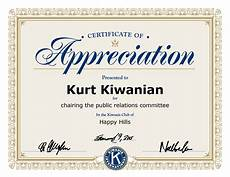 Free Template For Certificate Of Recognition Download Certificate Appreciation Template