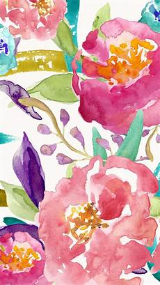 Watercolor Flower Wallpaper Iphone by Floral Designed By Bmills Find More Watercolor Android