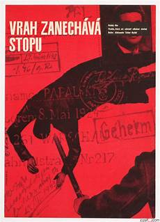 Crime Poster Design Movie Posters Made In Czechoslovakia 60s Movie Poster