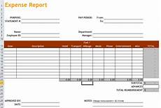 Small Business Expense Report Template Expense Report Excel Templates Apcc2017
