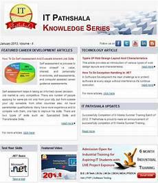 Career Development Articles It Pathshala Knowledge Series January 2013 Vol 2 171 It