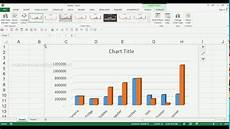 Column Chart Excel How To Create 3d Clustered Column Chart In Ms Excel 2013