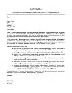 Cover Letters For Accounting Senior Accounting Professional Cover Letter