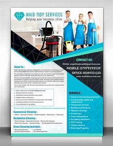 Office Cleaning Brochure Serious Professional Cleaning Service Flyer Design For A