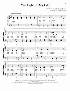 Light It Up Sheet Music Download You Light Up My Life Sheet Music By Debby Boone