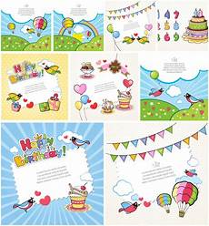 Kids Birthday Cards To Print Printable Birthday Cards For Kids Vector Graphics Blog