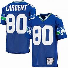 Mitchell And Ness Throwback Jersey Size Chart Mitchell Amp Ness Steve Largent Seattle Seahawks Blue1985