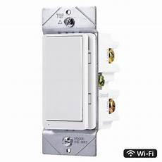 Ge Light Switch Smart Ge Wi Fi Smart Dimmer 3 Way White Smart With Led Light