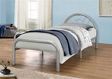 birlea 3ft single silver metal bed frame by birlea