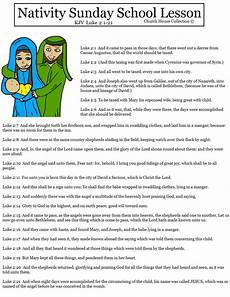Sunday School Printables Church House Collection Blog Nativity Sunday School Lesson