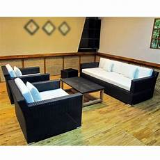 Wicker Sofa Outdoor Set Png Image by Luxury Sofa Set Wicker Frame Black Glass Top Table 2