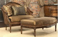decor home furniture leopard print settee luxury home furnishings and