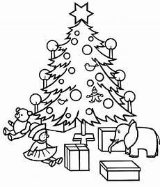 Malvorlage Weihnachtsbaum Mit Geschenken Malvorlagen Weihnachtsbaum