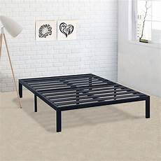 california king metal platform bed frame with heavy duty