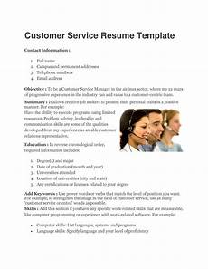 How To Word Customer Service On Resume 30 Customer Service Resume Examples Template Lab