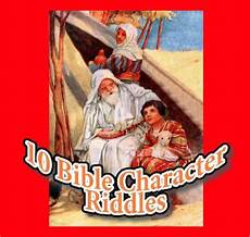 Bible Riddles 10 Bible Character Riddles For Preschoolers