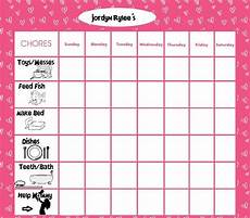 Toddler Chore Chart Jordyn S Chore Chart Toddler Age 1 3 Diy I Did It