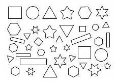 geometrische formen vorlagen zum ausdrucken ausmalen