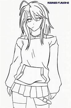 desenho anime ultra violet animes e mangas sem cor e em branco e