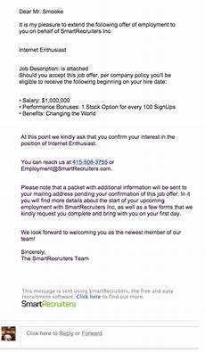 How To Accept Offer Of Employment Reply Job Offer Letter Salary Negotiation Letter Template