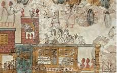 flotilla fresco akrotiri thera bronze age town aegean