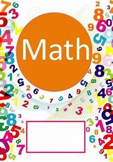 Maths Cover Page Design Math And Algebra Binder Cover By Shanissee S Royal Designs