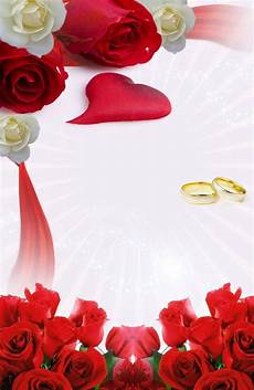 Fondos Para Invitaciones Descarga Gratis Invitaci 243 N Rosas Rojas Blancas Y Anillos