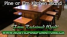 kitchen islands ontario rustic pine kitchen island from reclaimed pine mennonite