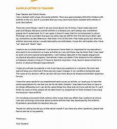 Letters To Teachers From Students Free 52 Sample Student Letter Templates In Ms Word Pdf
