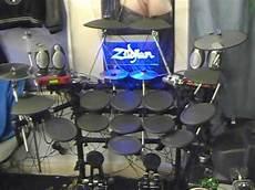 electronic bid saw blade trigger cymbal electronic drumkit tour part 2