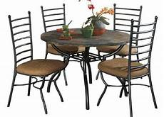 Signature Design By Antigo Chair Side End Table Black Furniture Slate Dining Table Dining Room Ideas