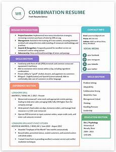 2020 Resume Format Best Resume Formats For 2020 3 Professional Examples