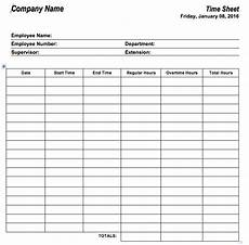 Employee Hours Template 6 Free Timesheet Templates For Tracking Employee Hours