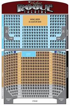 Argyle Theatre Seating Chart The Historic Rogue Theatre Seating Chart