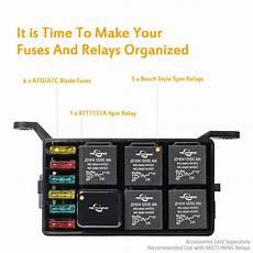 box auto auto car fuse relay holder box relay socket 6 relay 6 atc