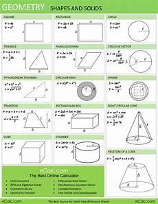 Geometric Formula Geometry Formulas Driverlayer Search Engine