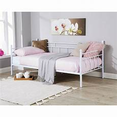 arizona 3ft single day bed metal frame