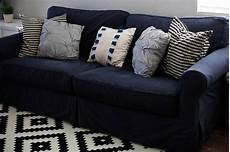 Navy Blue Sofa Slipcover 3d Image by How To Dye A Sofa Slipcover