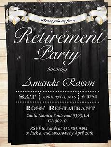 Retirement Invitations Online 6 Retirement Invitation Templates Free Download