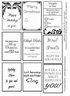Christmas Labels Black And White Sweetly Scrapped Free Printable Christmas Tags
