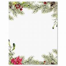 Holiday Stationery Paper Pine Berries Christmas Letter Papers Current Catalog