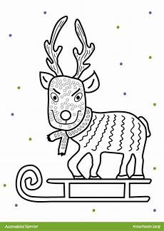 Malvorlage Rentier Weihnachten Malvorlage Rentierkopf