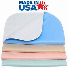 100 cotton washable bed pads chair pads heavy weight