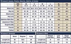 American Rag Size Chart Women S Sizing Chart Choisir Amp L Atelier