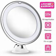 Hand Mirror With Lights Updated 2019 Version 10x Magnifying Makeup Mirror With